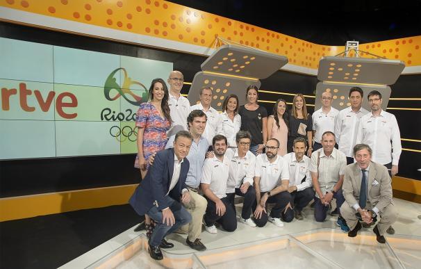 """RTVE realizará un """"despliegue espectacular"""" para Río 2016 con más de 5.000 horas en directo y 129 periodistas en Brasil"""