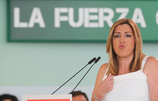 """Susana Díaz hace """"autocrítica"""" tras el 26J y justifica el 'no' del PSOE-A a Rajoy en el """"maltrato"""" a Andalucía"""
