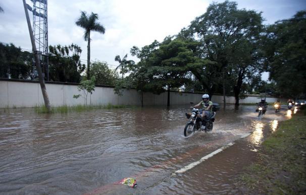 Las inundaciones en el sur de Brasil dejan 50.000 evacuados y cuantiosos daños