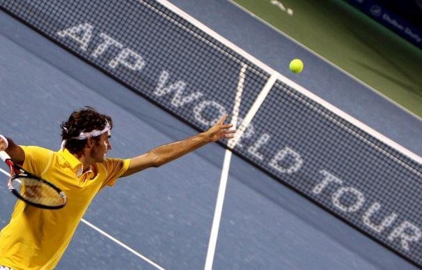 Federer, en cuartos de Dubai a costa de Granollers