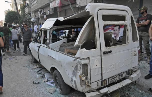 El Estado Islámico crucifica a ocho rebeldes rivales en el norte de Siria