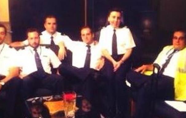 La tripulación del avión estrellado en Mali.