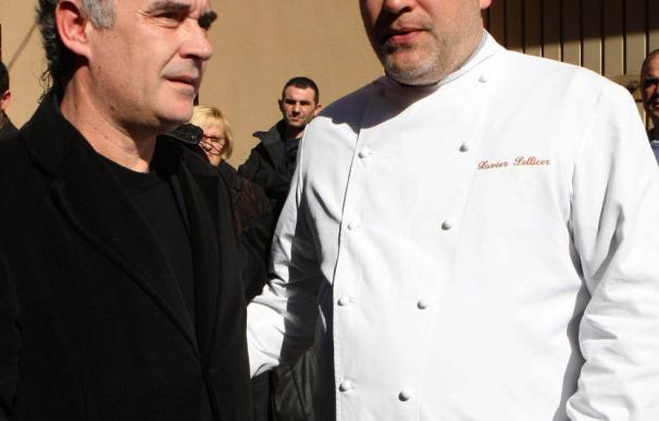 El mundo de la cocina arropa a la familia de Santi Santamaria en Sant