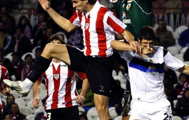 El portero Unai Alba es el único jugador de la plantilla del Hércules que no ha sido titular en Liga