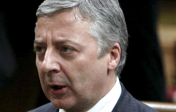 José Blanco se muestra seguro de que Esperanza Aguirre se recuperará pronto