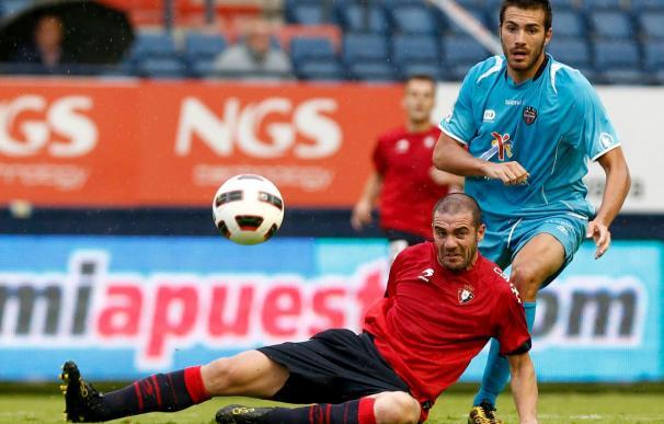 El uruguayo Pandiani es duda en el Osasuna para el partido copero ante el Deportivo