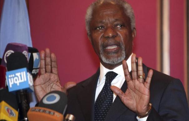 """Annan quiere que Irán permanezca """"involucrado"""" en la solución a la crisis en Siria"""