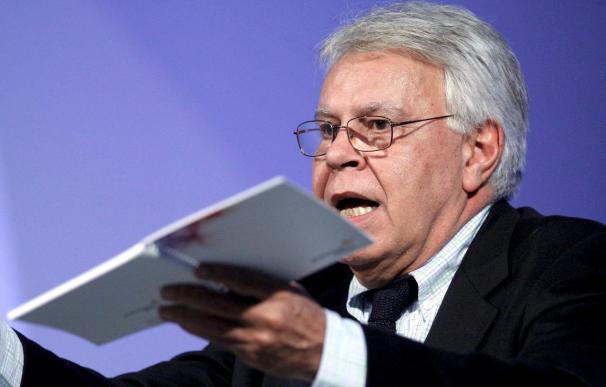 Felipe González lamenta que los políticos tengan el mismo discurso que hace 25 años