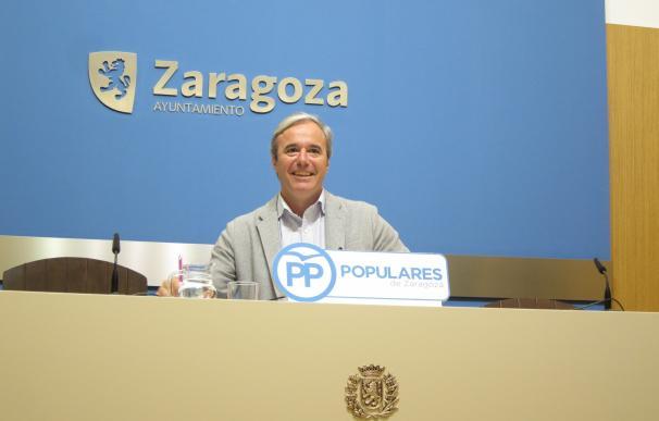 Azcón (PP) pide acometer ya las obras urgentes para garantizar la seguridad en La Romareda