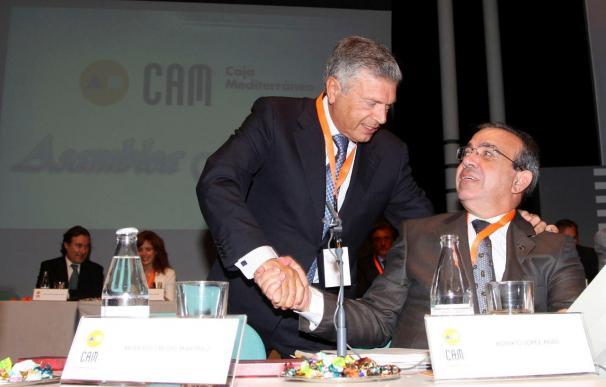 El banco de CAM y Cajastur gana 367 millones en 2010 y su mora roza el 7 por ciento