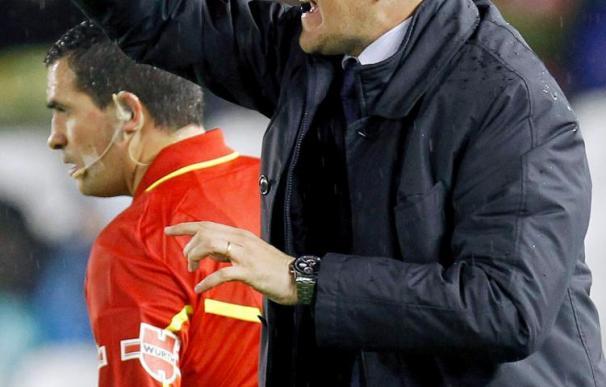 Garrido niega haber insultado al árbitro en el Racing-Villarreal