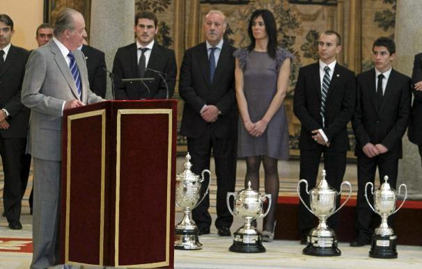 La Roja, Pasaban y Lorenzo, destacados en el año mas brillante del deporte español