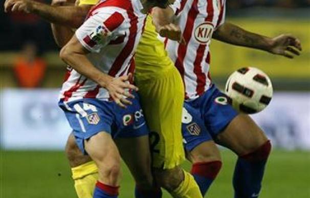 El Villarreal vence al Atlético y se coloca segundo en la Liga