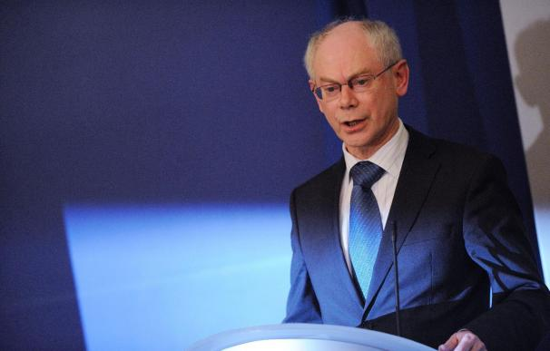 Van Rompuy propone suavizar el pacto de competitividad para evitar divisiones