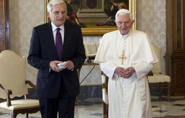 El papa analiza con el presidente de la Eurocámara la libertad religiosa