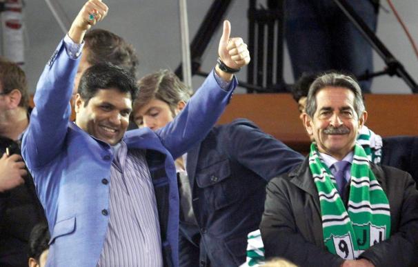 Alí Syed cree que el Racing puede ganar al Real Madrid y a cualquier equipo
