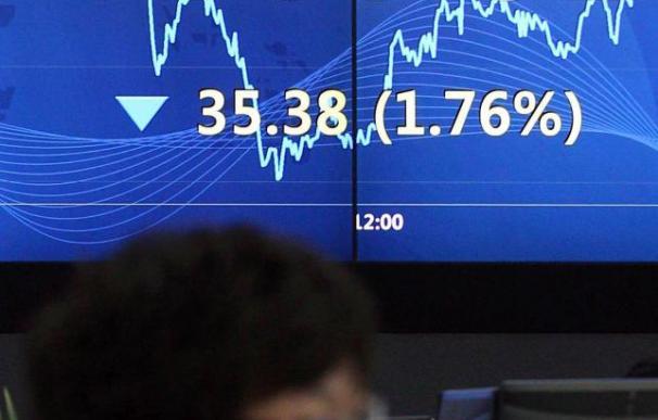 El índice Kospi baja 24,1 puntos, el 1,22 por ciento, hasta 1.939,30 unidades