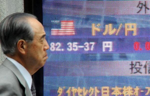 El Nikkei cae 39,22 puntos, el 0,42 por ciento, hasta 9.326,81 puntos