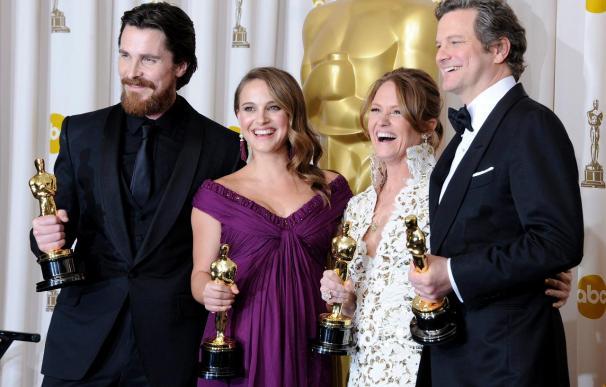 """""""El discurso del rey"""" se impone en unos Óscar sin suerte para """"Biutiful"""""""