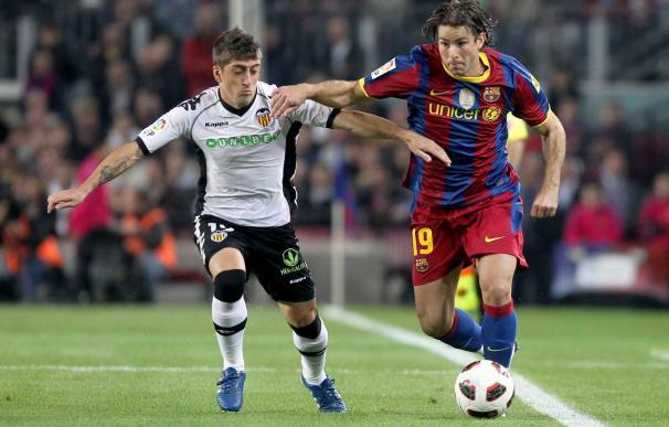 El Valencia no se impone al Barcelona en Mestalla desde 2007
