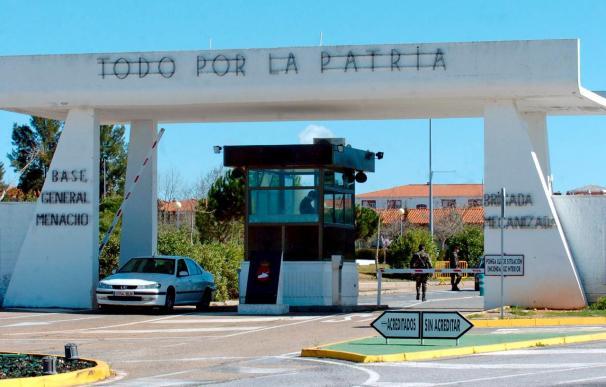 Decretado el secreto del sumario por el robo de armas en una base de Badajoz