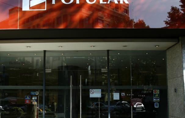 El beneficio de Banco Popular cae un 19,9% hasta septiembre por provisiones