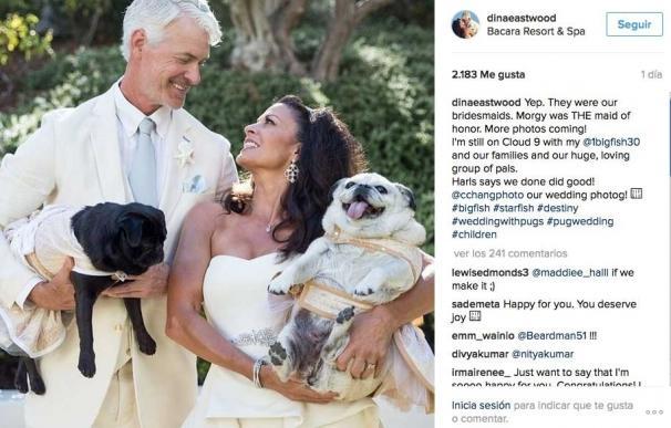 La ex de Clint Eastwood se casa con su amor de juventud, Scott Fisher