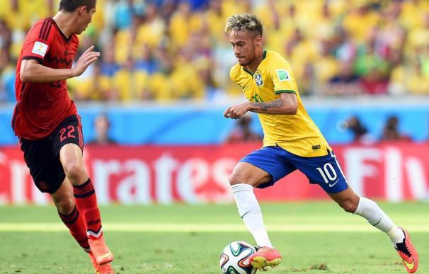 Neymar cierra el podio.