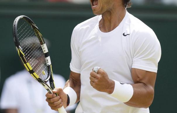Nadal ajusta cuentas con Rosol en la segunda ronda de Wimbledon