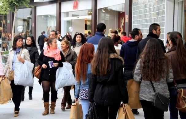 La afluencia de visitantes a los centros comerciales en España cayó un 22,1% en febrero pese a las rebajas
