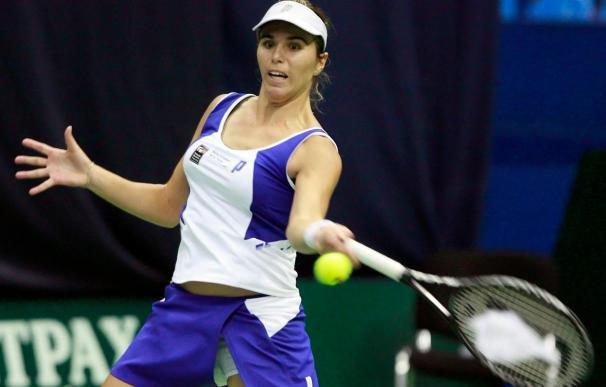 María José Martínez, en el torneo de Moscú