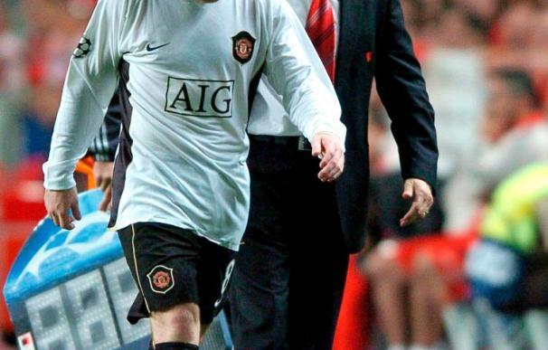 Wayne Rooney está contento con su nuevo contrato en el Manchester United