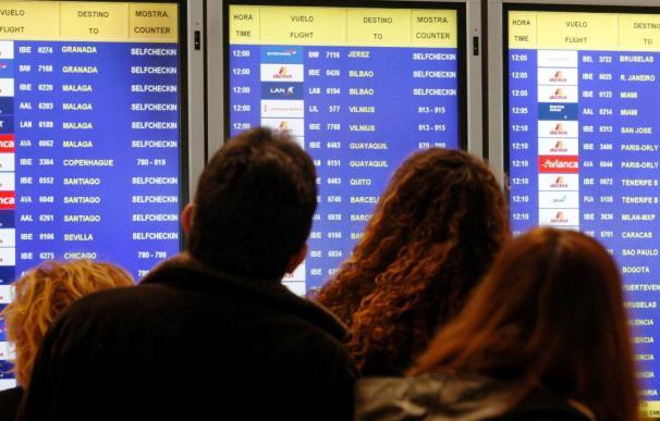 Los aeropuertos operarán 680.239 vuelos en invierno, un 3 por cineto más que en 2009