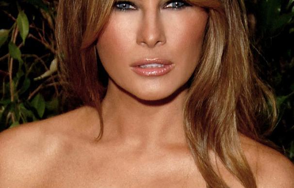 Melania, de modelo sin prestigio a casarse con Trump con el vestido más caro del momento