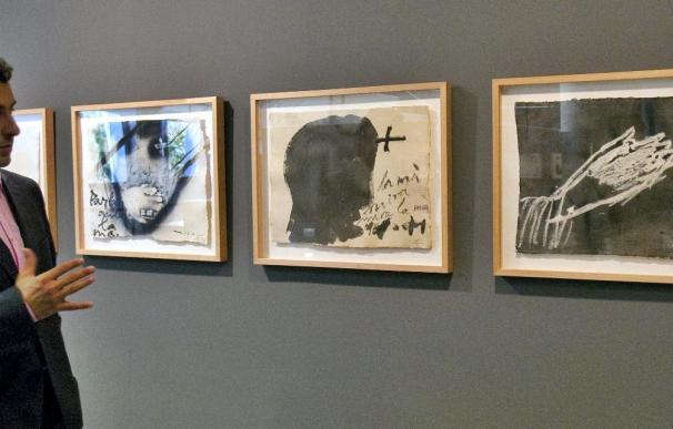 La Fundación Palau Fabre muestra la obra reciente de Tàpies
