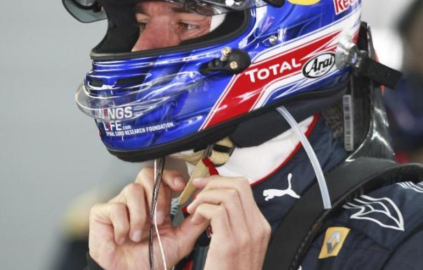 La nueva pista no proporciona sorpresas y Alonso se situó tras Webber