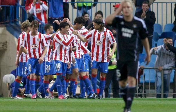 3-0. Un triunfo fácil reactiva al Atlético en la Liga Europa