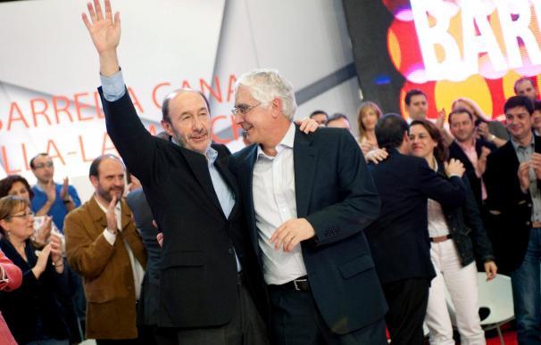 Rubalcaba opina que el PP pide el final del partido porque teme la recuperación económica