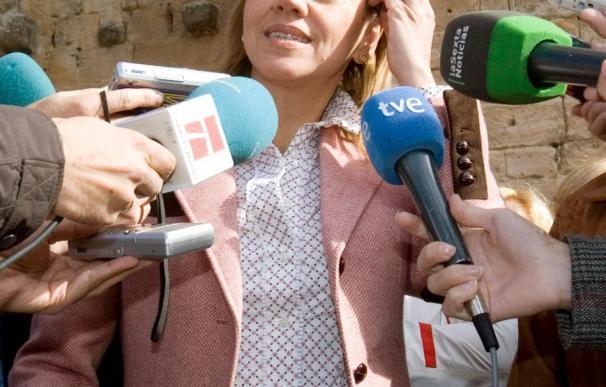 """Cospedal sólo contempla una disolución de ETA con """"vencedores y vencidos"""""""