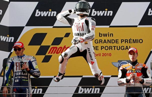 El español Jorge Lorenzo logra su octava victoria de la temporada en Estoril