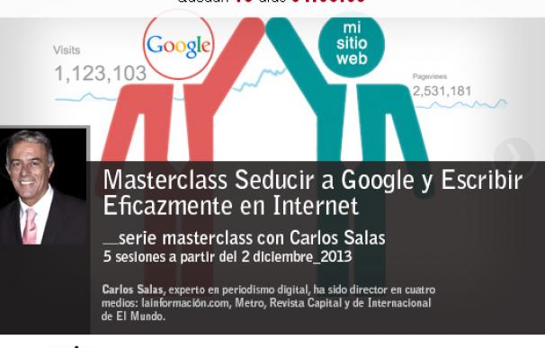Masterclass: cómo seducir a Google