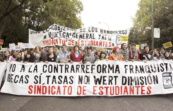 Las mejores fotos de la protesta en Madrid contra la reforma educativa de Wert