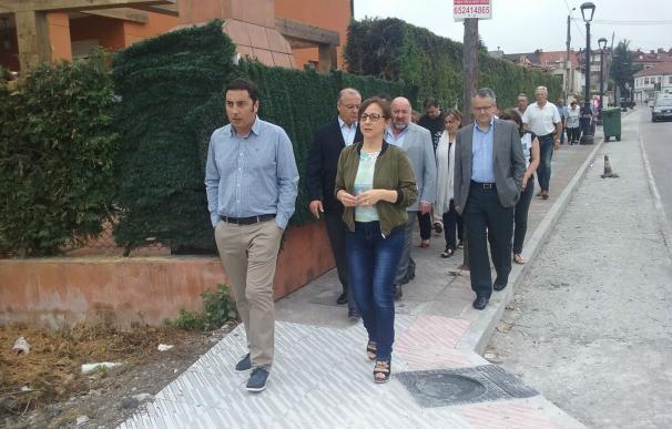 Las obras de la carretera de Lugo de Llanera a Silvota concluirán en septiembre