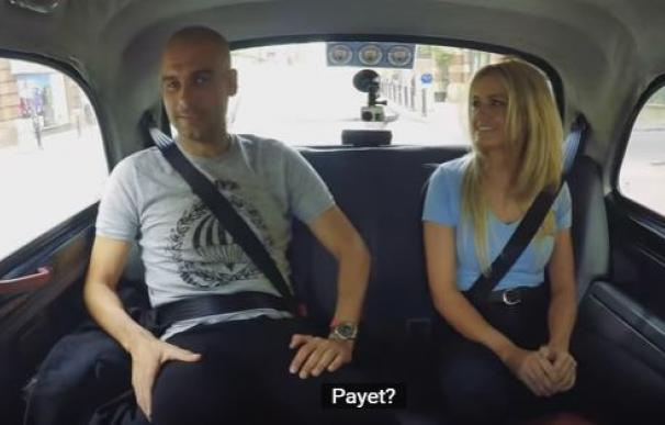 Guardiola vuelve al taxi y una fan le pide fichar a Kroos y a Payet