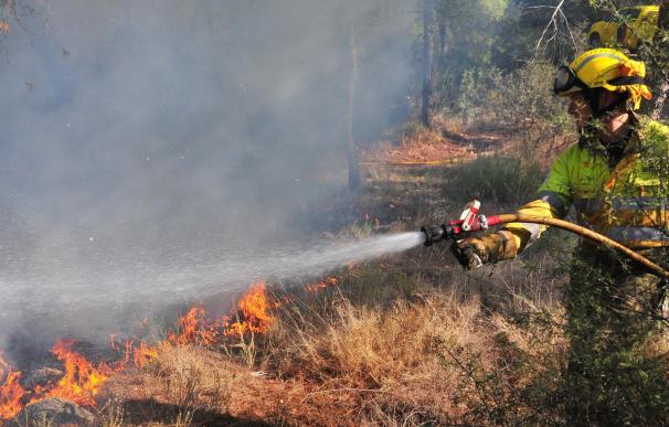 El dispositivo Thader se mantendrá hasta septiembre para prevenir incendios en el cauce del río Segura