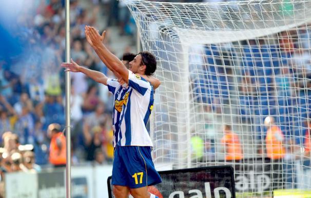 Apelación mantiene los tres partidos de suspensión al delantero del Espanyol Osvaldo