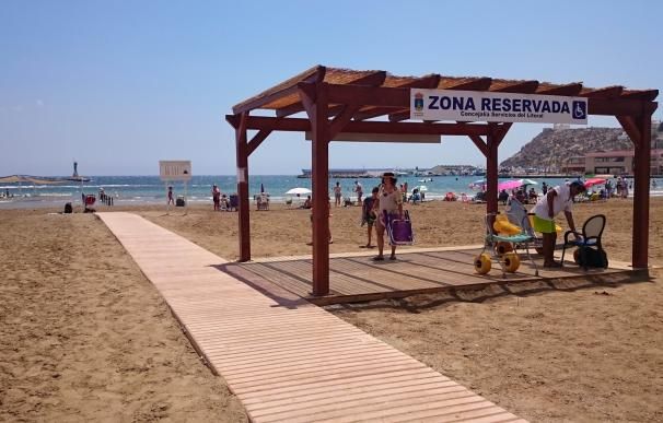 Más de 50 playas cuentan con equipamientos accesibles para personas con movilidad reducida