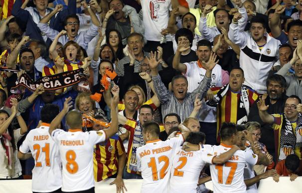 Valencia - Sevilla: las mejores fotos de la semifinala de la Europa League