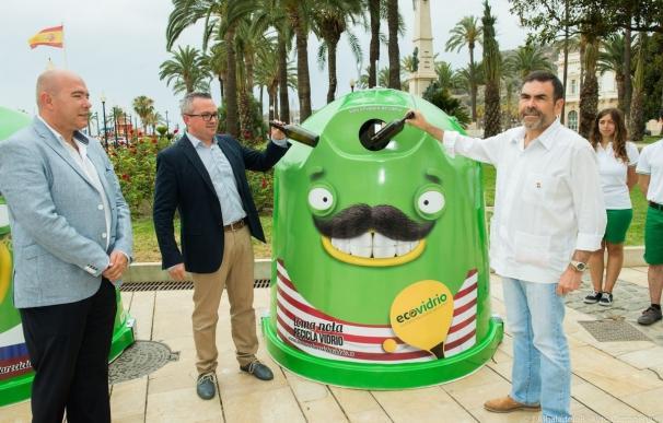 Ecovidrio y Ayuntamiento de Cartagena ponen en marcha una campaña de verano para aumentar el reciclaje en zonas costeras