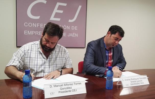 Macrosad se incorpora como nuevo miembro asociado a la Confederación de Empresarios de Jaén